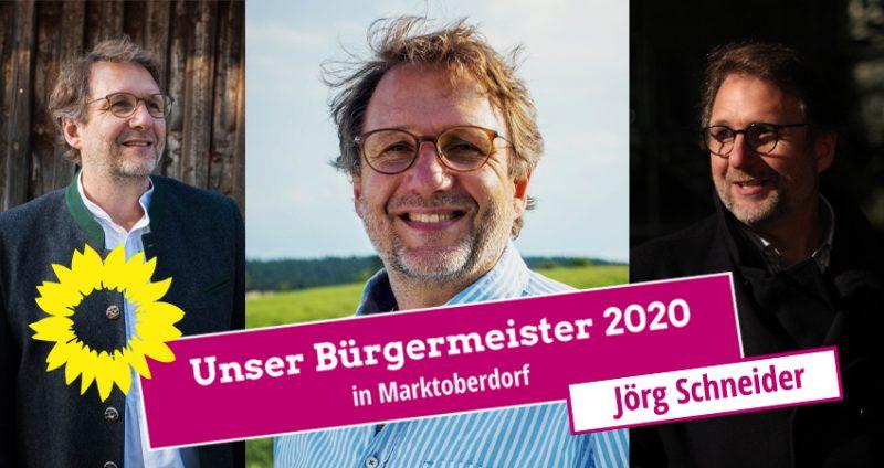 jörg schneider Bürgermeister Marktoberdorf 2020 Bündnis 90 / die Grünen